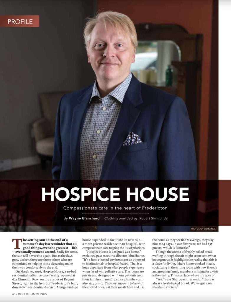 Fredericton Hospice and JTFCC