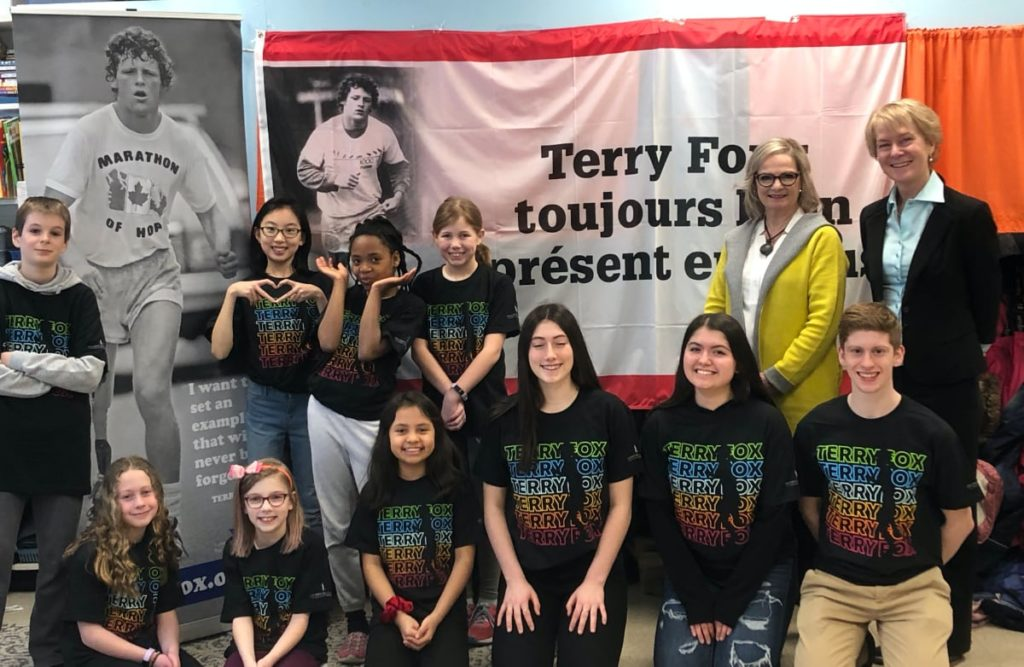 Terry Fox - Fredericton Students