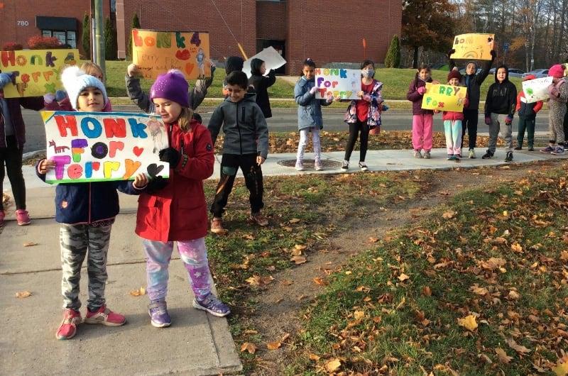 Montgomery Street School - Terry Fox Run